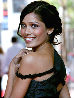 Freida Pinto = A Good Bond Girl?